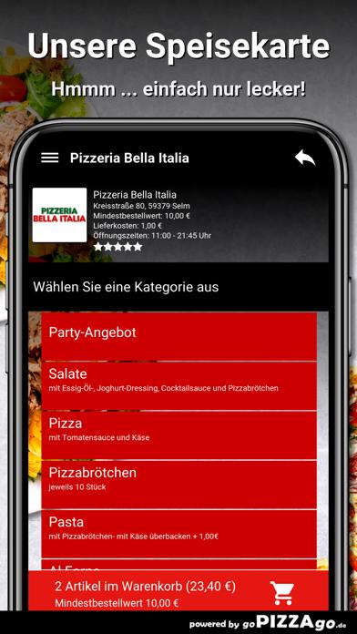 Pizzeria Bella Italia Selm screenshot 4