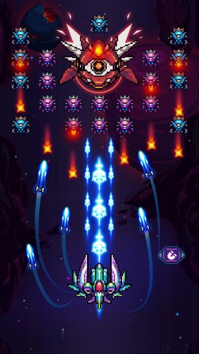 Galaxiga - ギャラガアーケードシューティングのスクリーンショット2