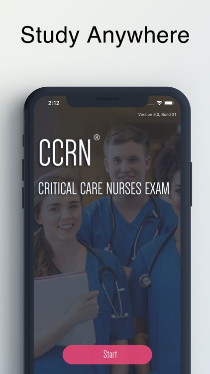 CCRN Adult Critical Care Exam.