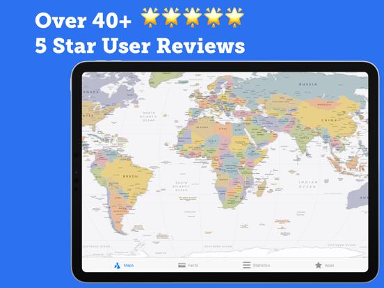 Atlas Geo 2021 Pro: Facts Mapsのおすすめ画像2