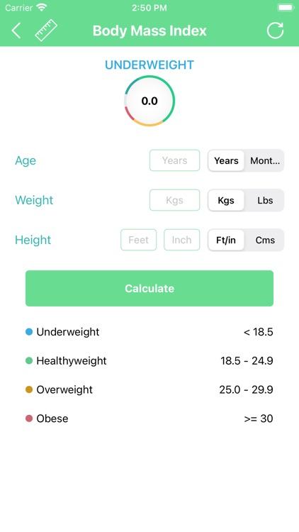 BMI Calculator - BMI Tracker screenshot-3