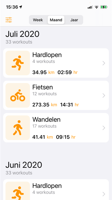My Workout Stats screenshot 3