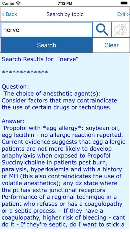 CRNA Nurse Anesthetist Exam screenshot-6