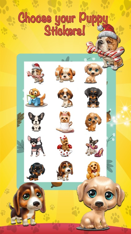 Cute Dog Stickers Emoji screenshot-3