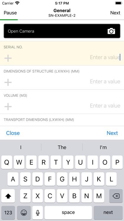 AGCO Inventory Inspection App screenshot-3