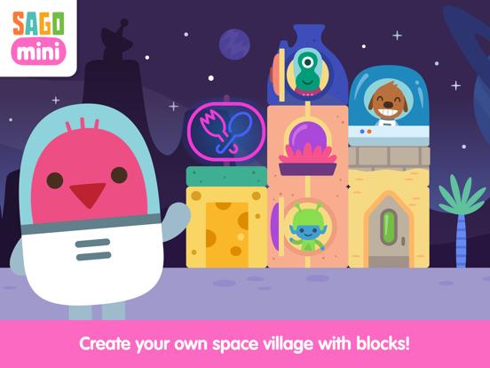 Sago Mini Space Blocks Builder screenshot 6