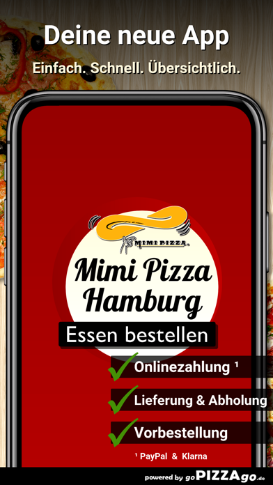 Mimi Pizza Hamburg screenshot 1