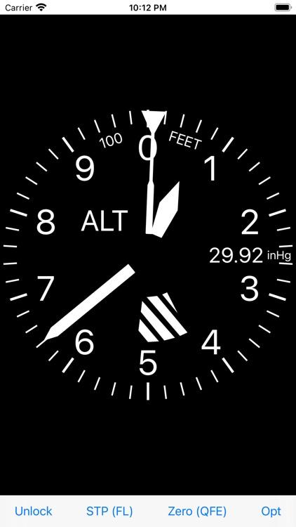 Altimeter for Aviators screenshot-5