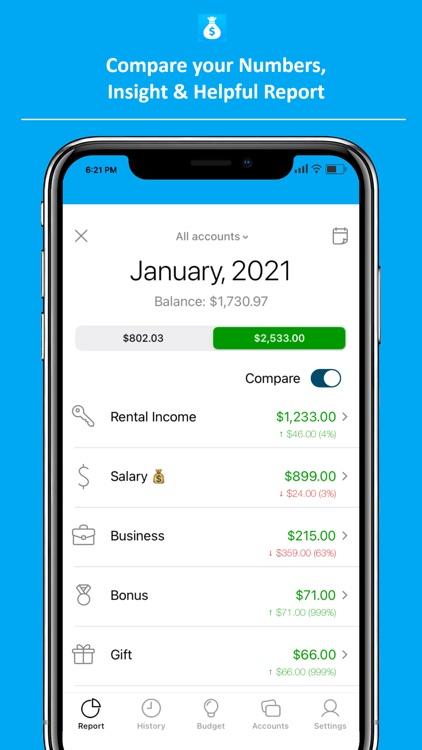 Spender - Money Management screenshot-3