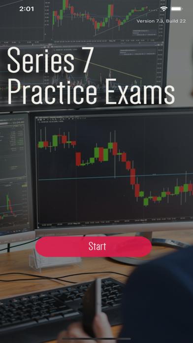 Series 7 Question Bank Exam screenshot 1