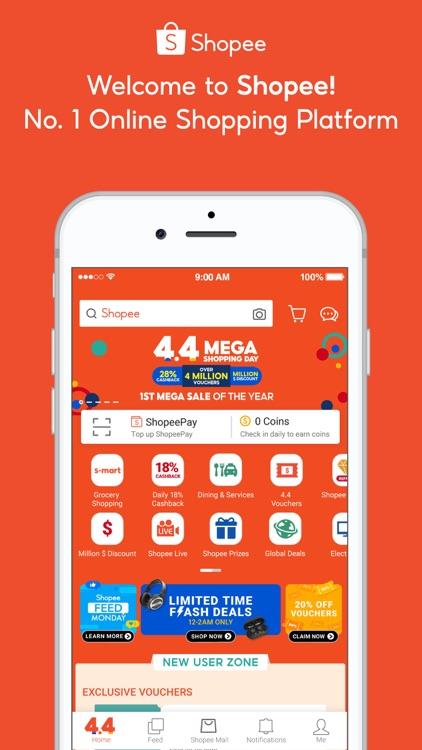 ShopeeSG 4.4 Mega Shopping Day screenshot-0