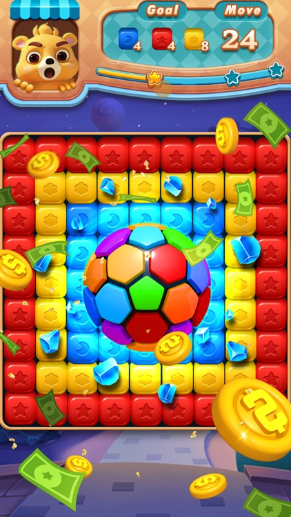 Toy Block: Tap Cube Brick Pop screenshot-3