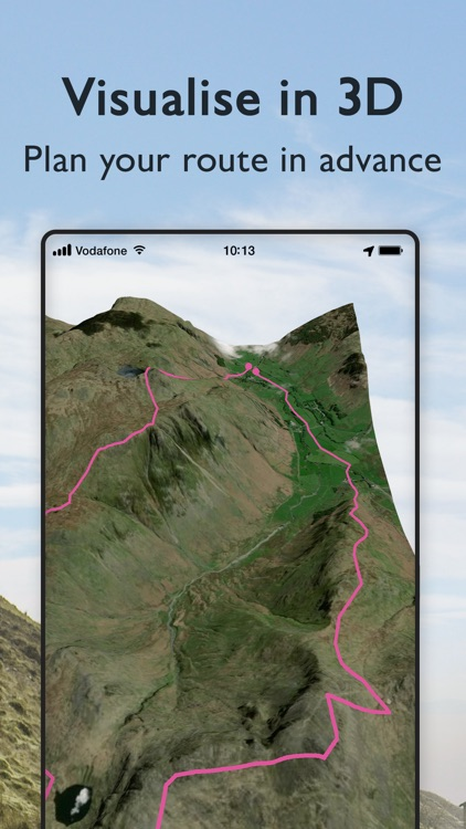 OS Maps: Walking & bike trails screenshot-5