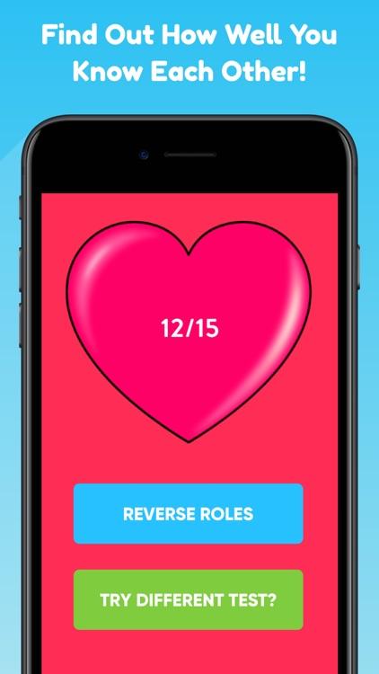 Couples Quiz Relationship Game