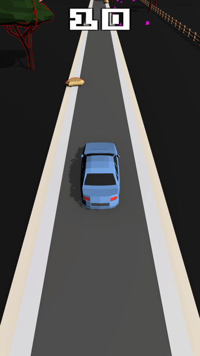 Obstacle road