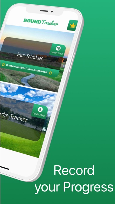 Golf Drills: Round Tracker screenshot 3
