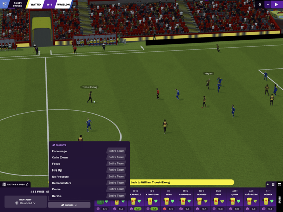 Football Manager 2021 Touch screenshot 3
