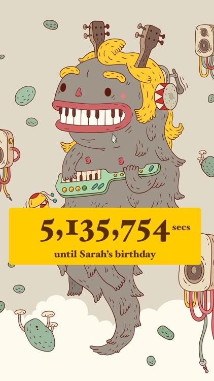 Birthday Countdown  screenshot-3