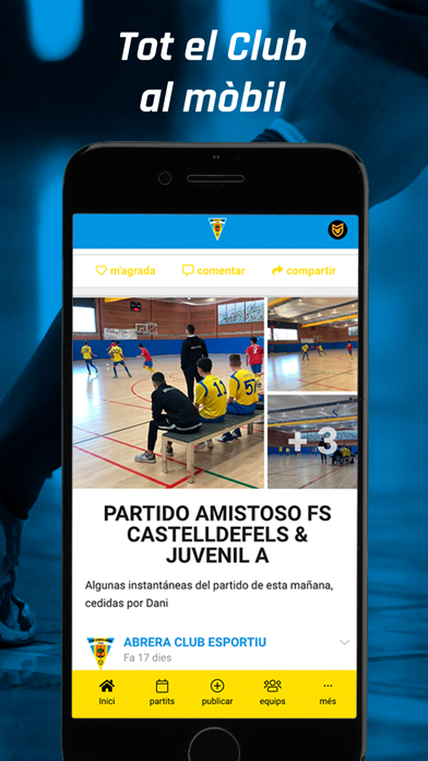 ABRERA CLUB ESPORTIU Screenshot