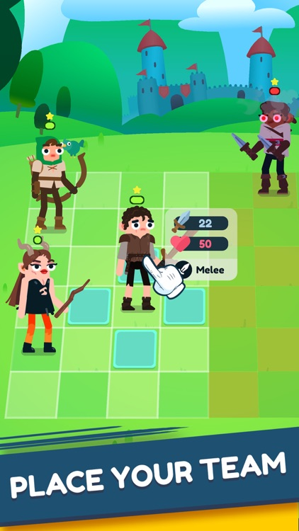 Heroes Battle:Auto-Battler RPG
