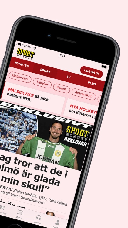 Sportbladet screenshot-1