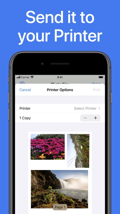 iPrint Smart Photo to Size App
