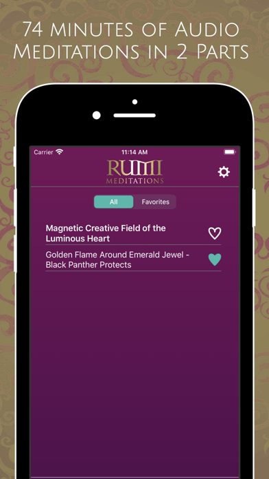 Rumi Meditations screenshot 4