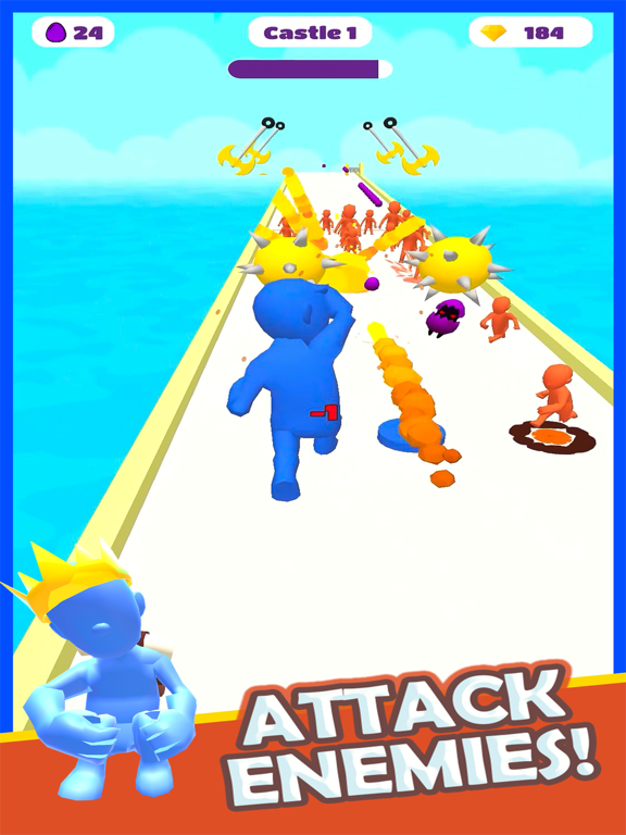 Boom Runner - Tower Defense 3D screenshot 9