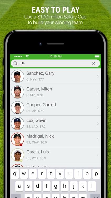 H2H Fantasy Baseball screenshot-4
