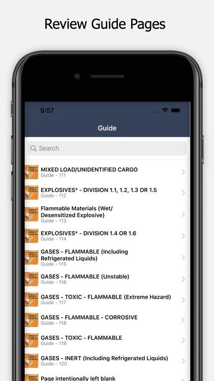 HazMat - ERG 2020 Guidebook