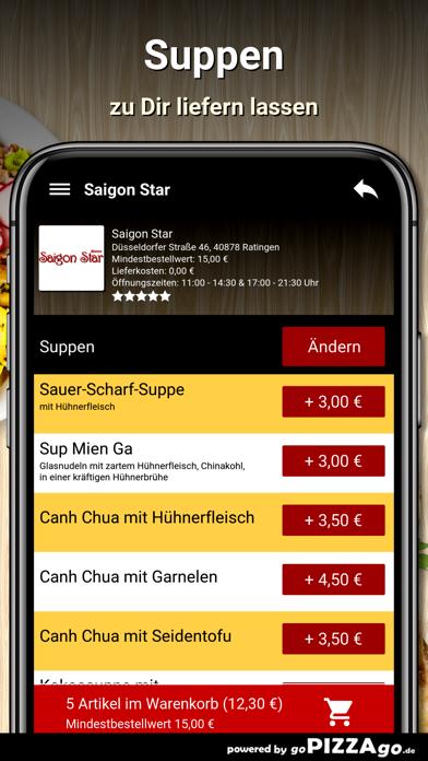 Saigon Star Ratingen screenshot 6