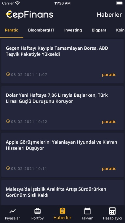 CepFinans: Döviz Altın Borsa screenshot-6