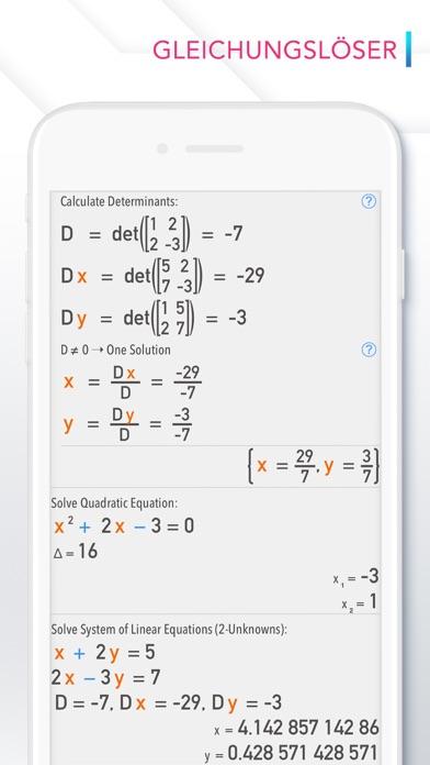 Calculator # - TaschenrechnerScreenshot von 5
