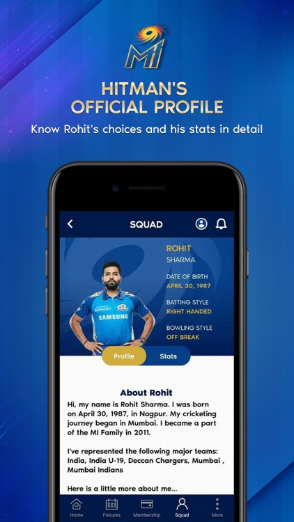 Mumbai Indians Official App screenshot-4