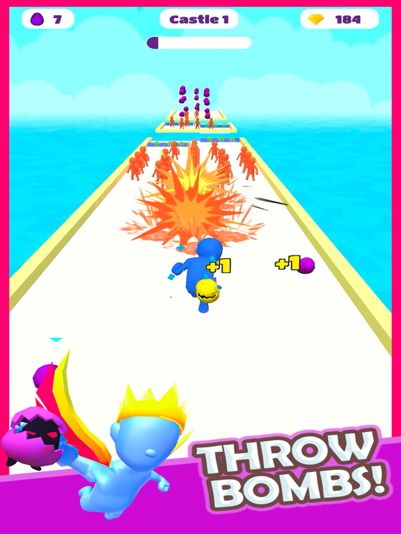 Boom Runner - Tower Defense 3D screenshot 6
