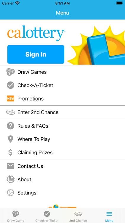 CA Lottery Official App screenshot-7