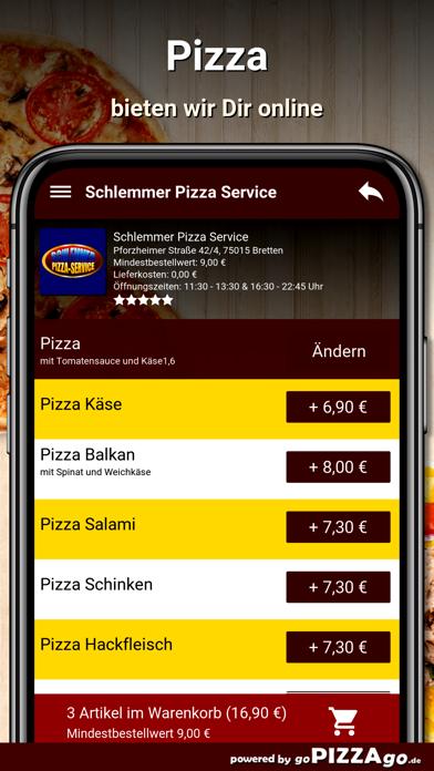 Schlemmer Pizza Bretten screenshot 5