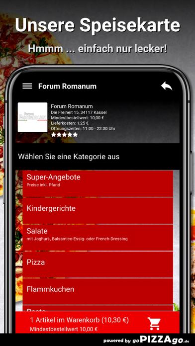Forum Romanum Kassel Pizza screenshot 4