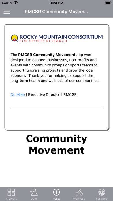 RMCSR Community Movement Screenshot