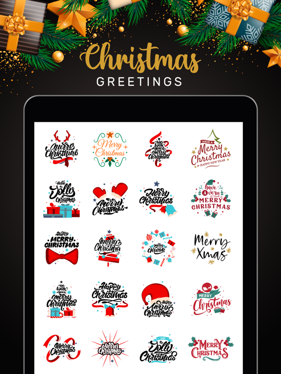 Christmas Lettering Stickers! screenshot 9