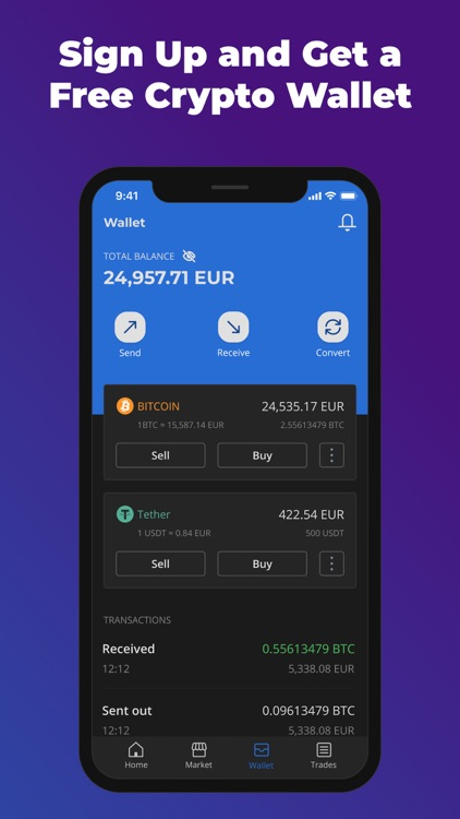 Paxful Bitcoin Wallet screenshot-5