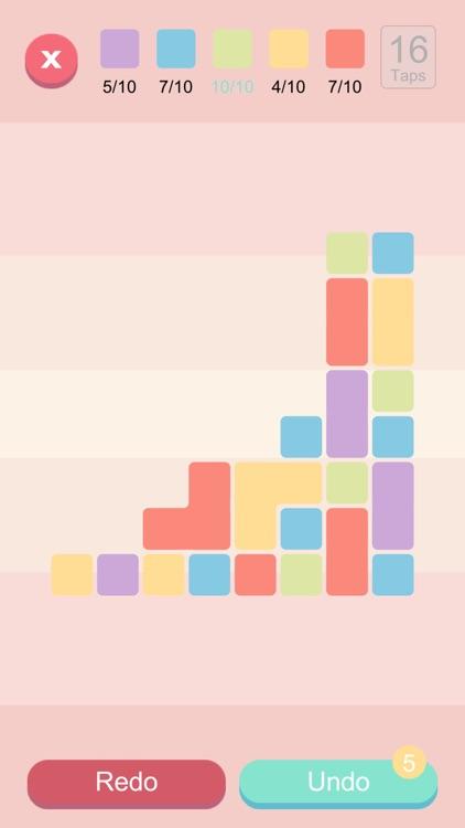 Blocks And Taps - Brain puzzle screenshot-4