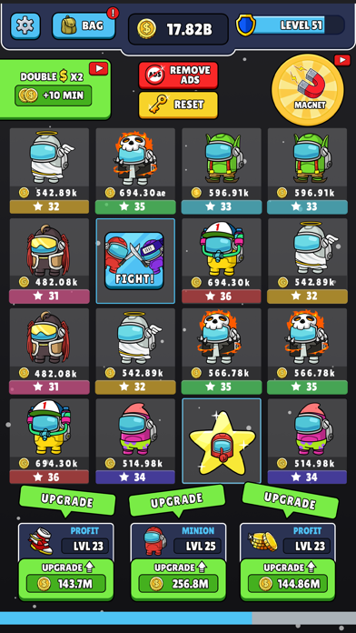 Impostor Academy Match & Merge screenshot 1