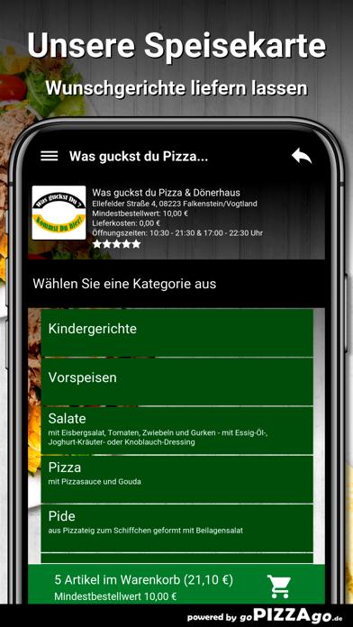 Was guckst du Pizza screenshot 4