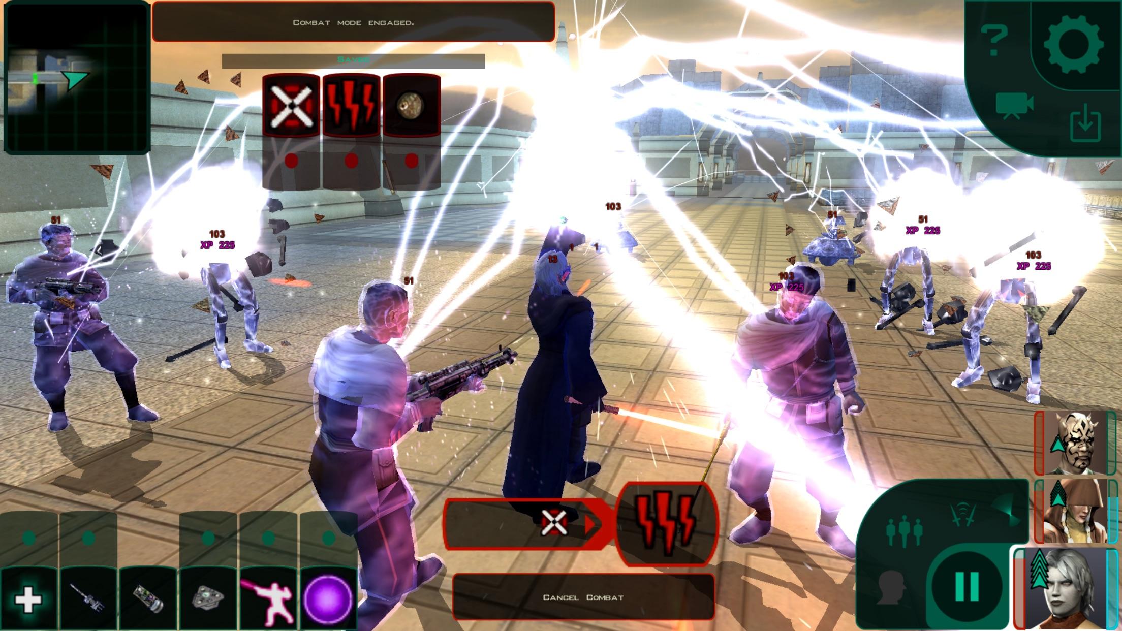 Screenshot do app Star Wars™: KOTOR II