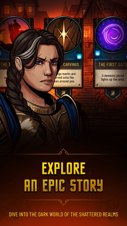 Dawncaster: Deckbuilding RPG screenshot-6