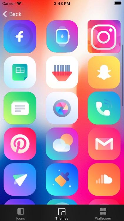 App Skins - Icons & Themes screenshot-6