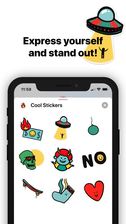 Cool Animated Stickers screenshot-3