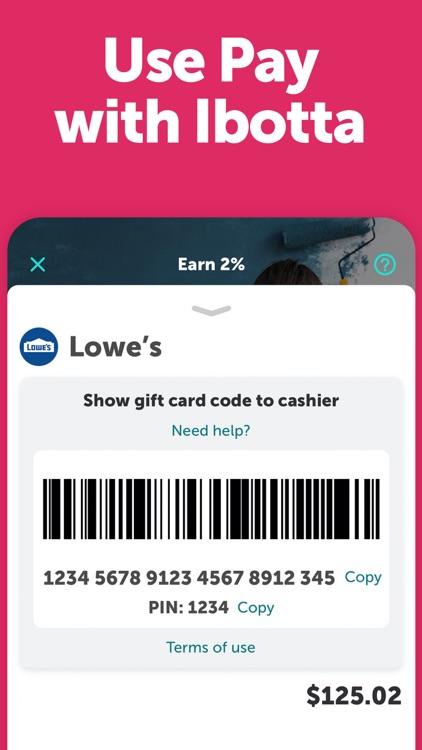 Ibotta: Save & Earn Cash Back screenshot-5