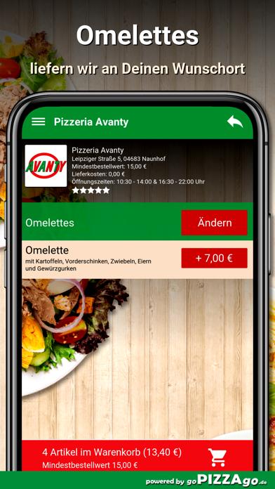 Pizzeria Avanty Naunhof screenshot 6